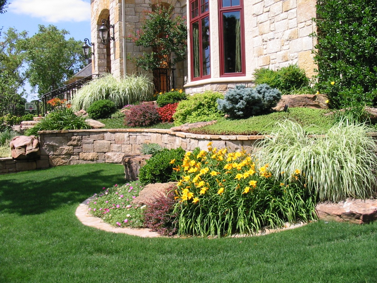 Home Lawn Design Of Site Design Landscape Design